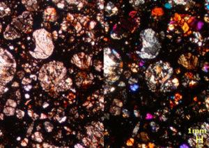隕石研磨薄片